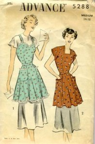 Vintage Advance Apron Pattern