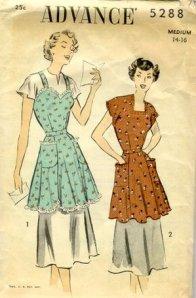 Vintage Advance Apron Pattern